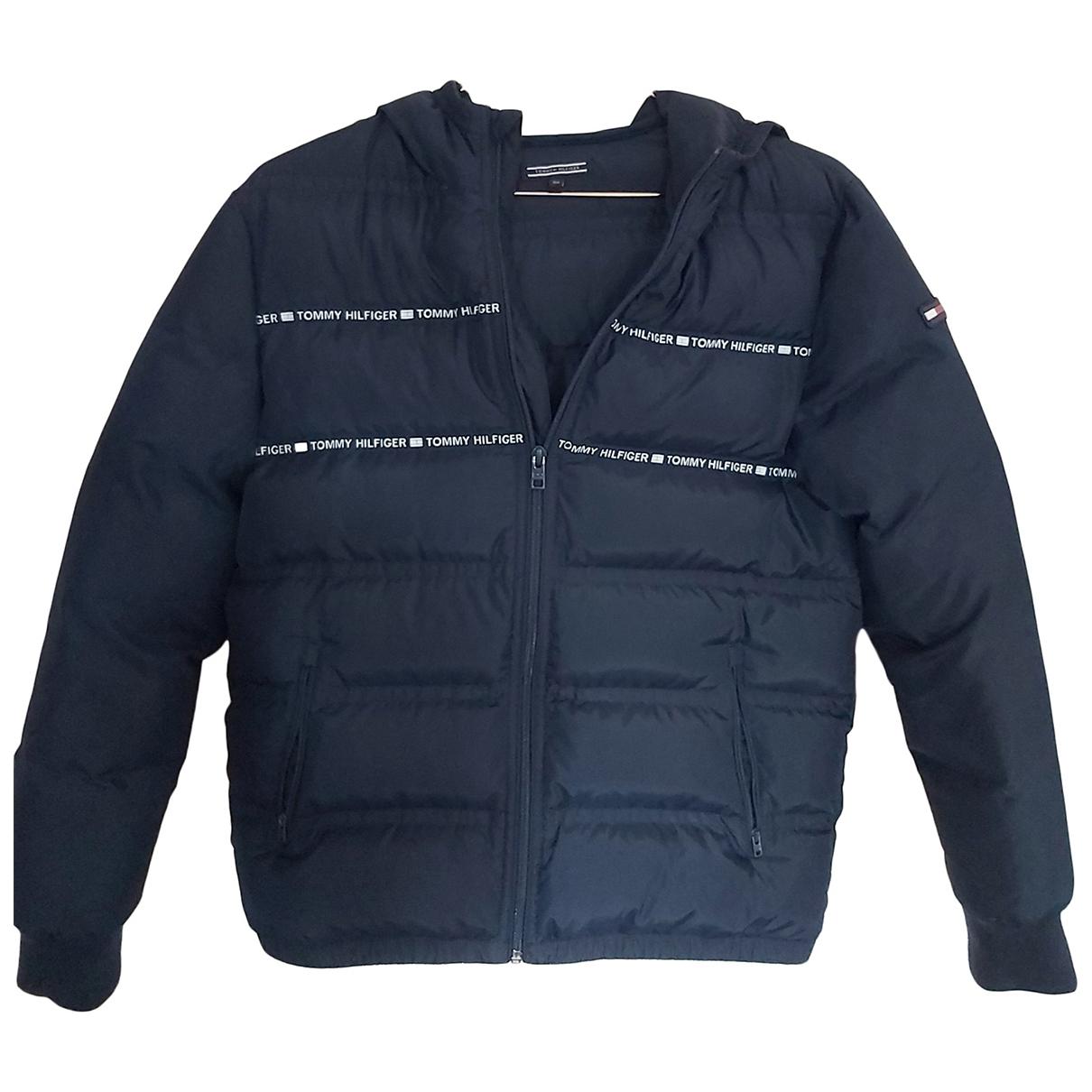 Tommy Hilfiger \N Navy coat  for Men S International