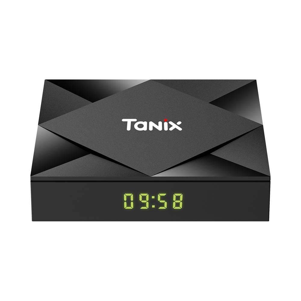 TANIX TX6S Allwinner H616 Android 10.0 KODI TV Box 2GB/8GB 2.4G+5.8G WiFi LAN Bluetooth TF Card Slot USB 2.0x3