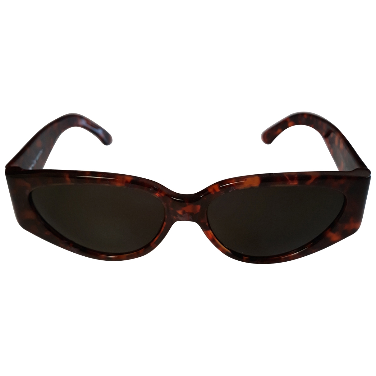 Non Signé / Unsigned \N Brown Sunglasses for Women \N