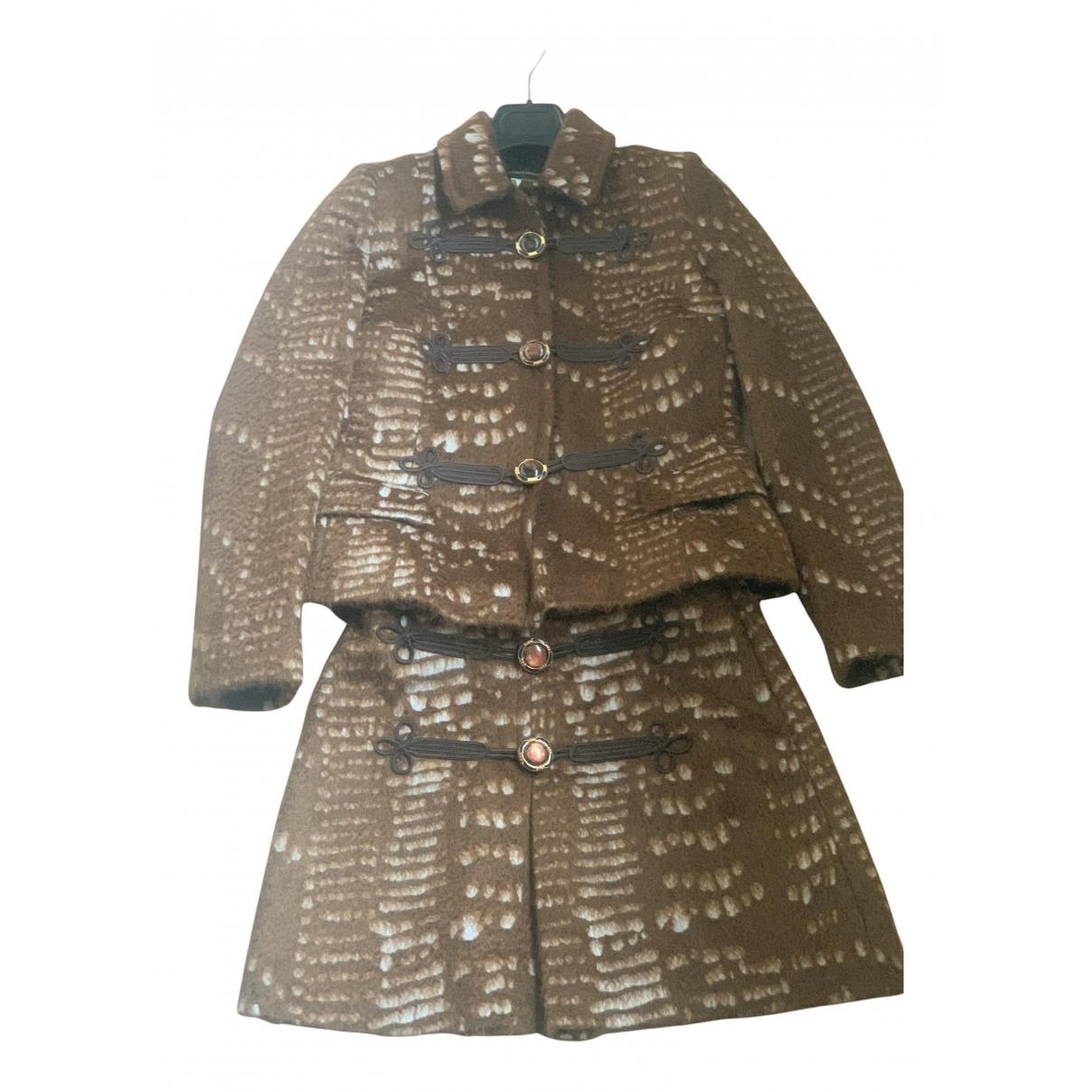 - Vetements   pour femme en laine - marron