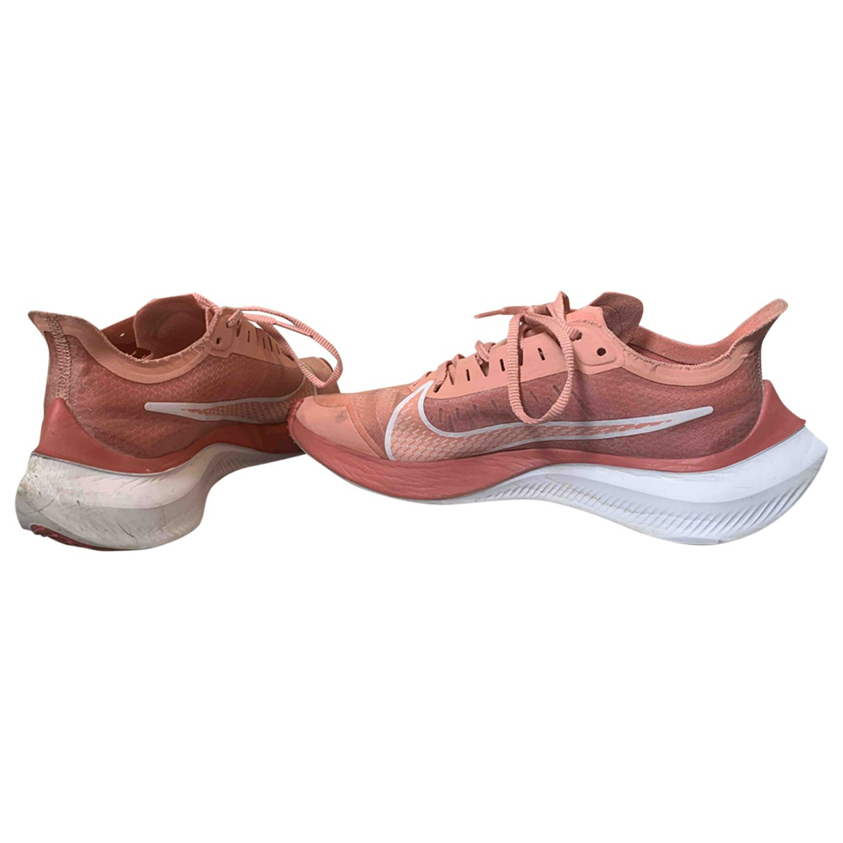Nike Zoom Fly  Pink Cloth Trainers for Women 38.5 EU