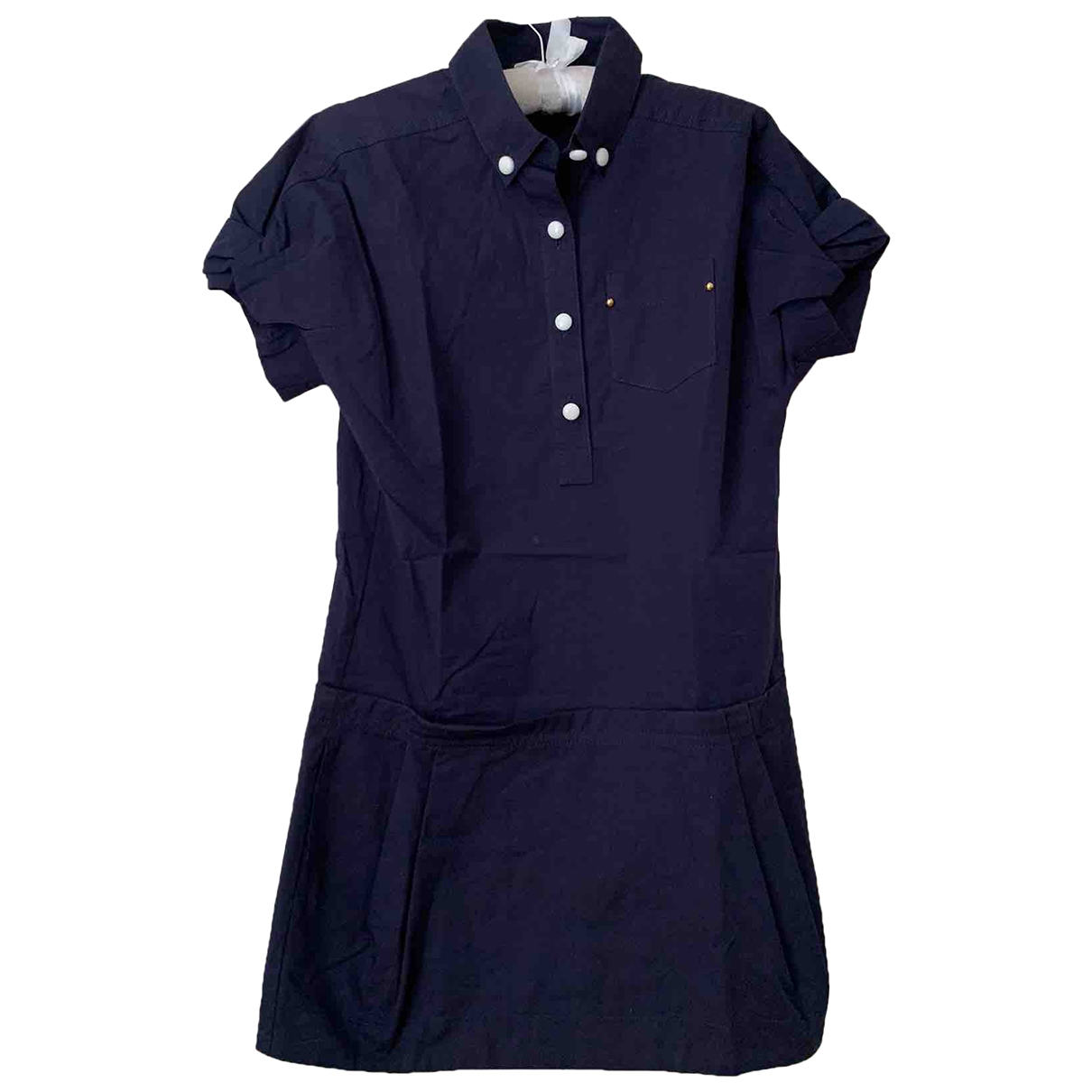 Louis Vuitton \N Blue Cotton dress for Women 34 FR