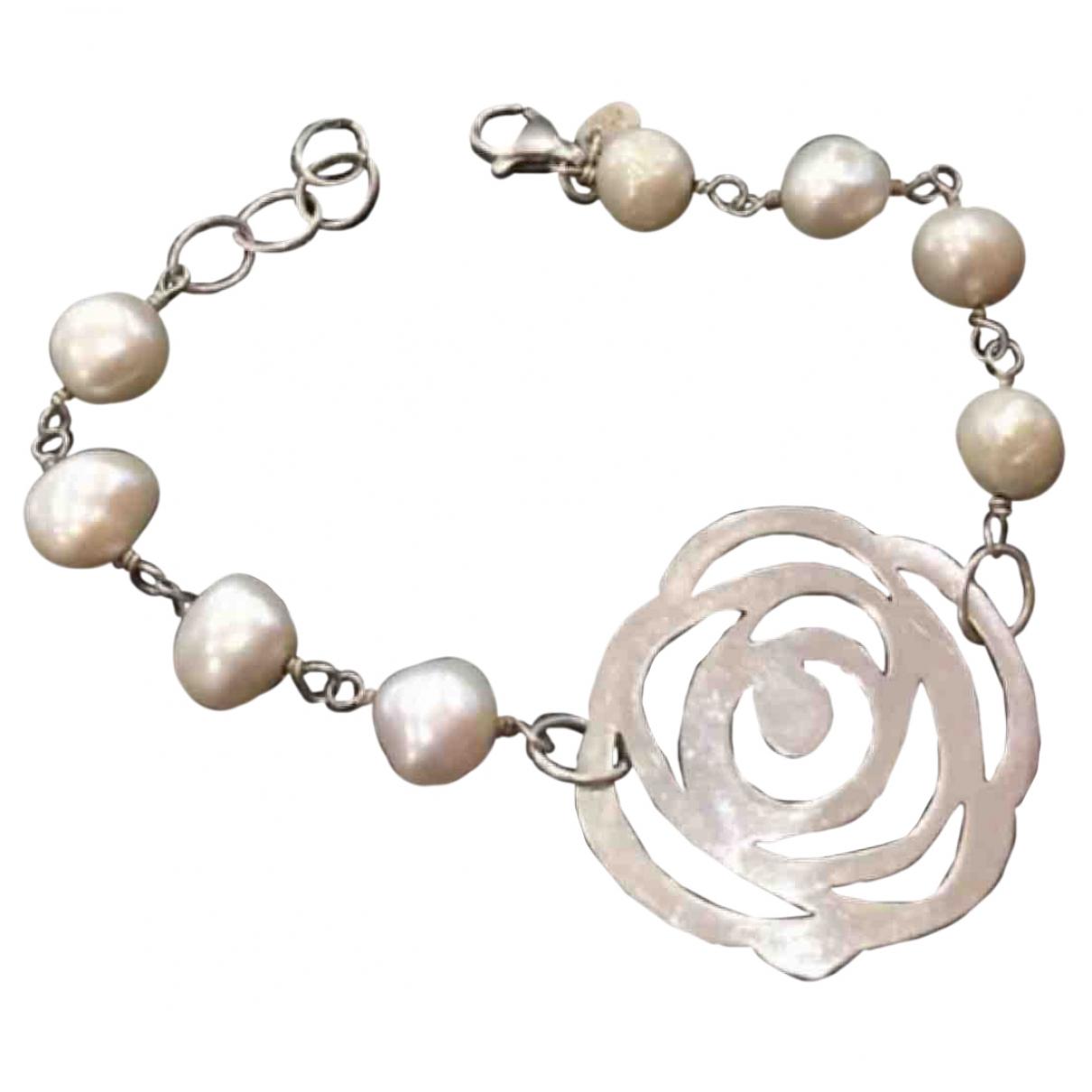 Atelier Tous \N Armband in  Weiss Perlen