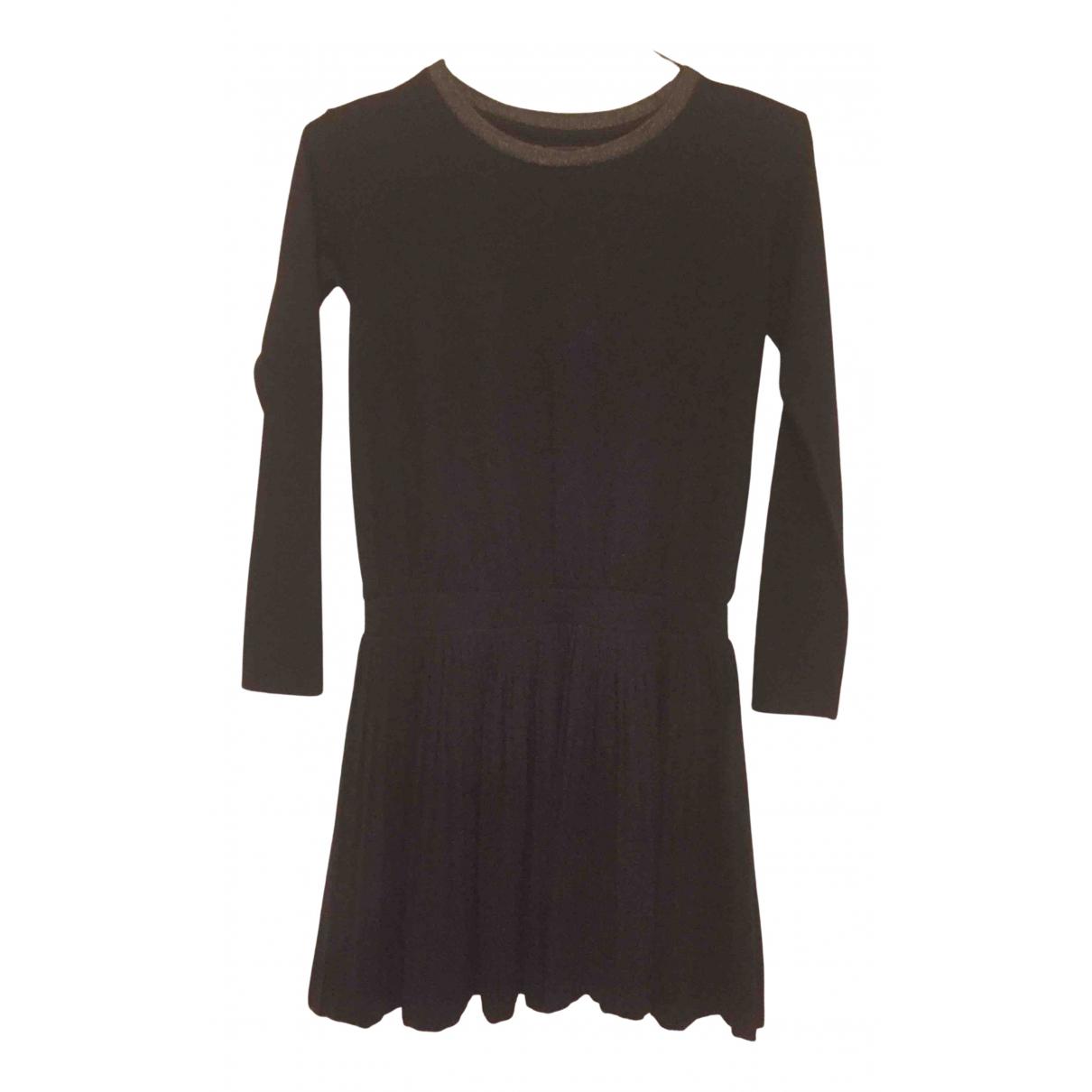 Bellerose \N Kleid in  Schwarz Polyester