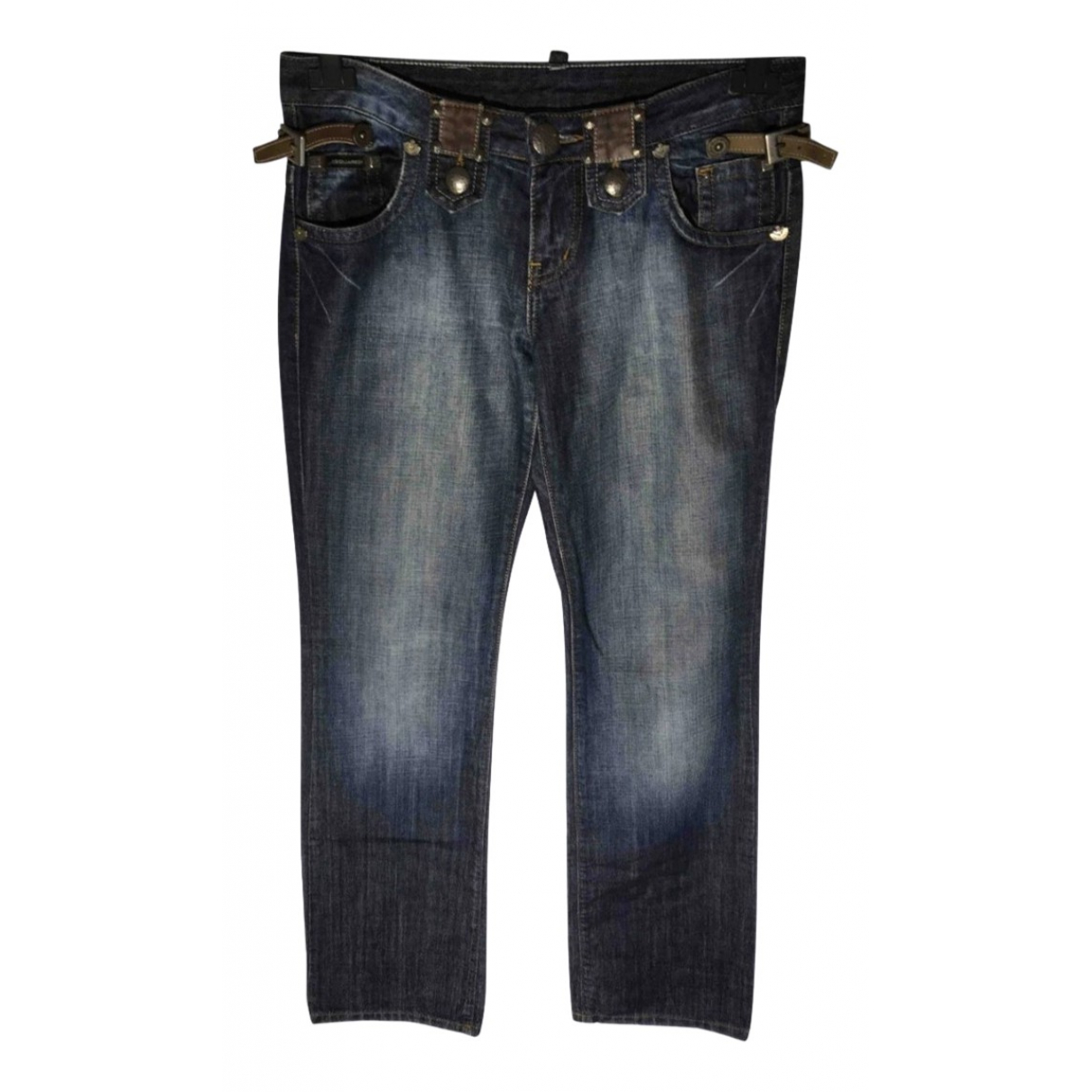 Dsquared2 \N Blue Denim - Jeans Jeans for Women 28 US