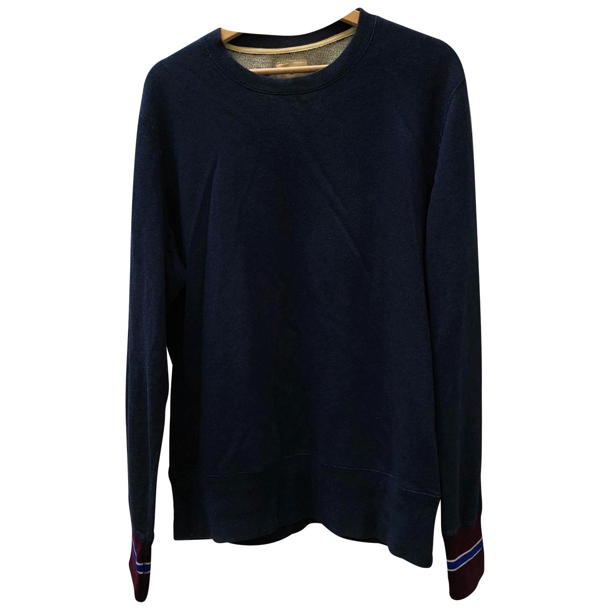 Bellerose \N Pullover.Westen.Sweatshirts  in  Anthrazit Baumwolle