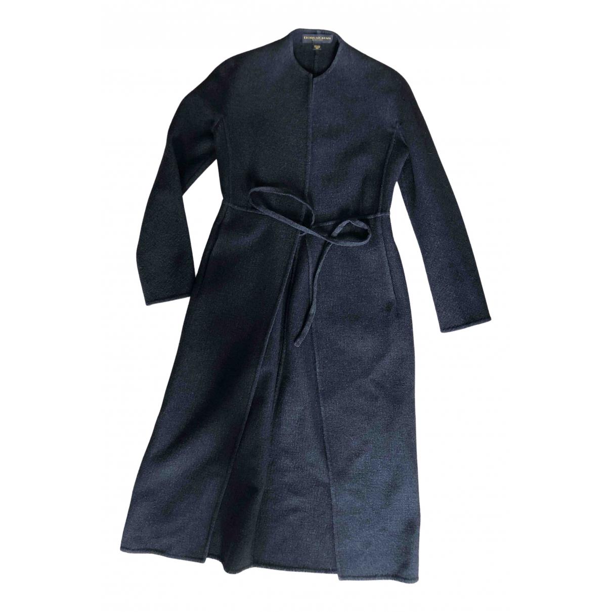 Donna Karan - Manteau   pour femme en laine - anthracite
