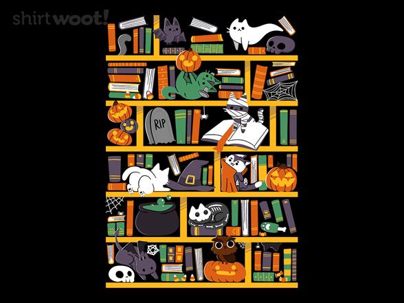 Halloween Library T Shirt