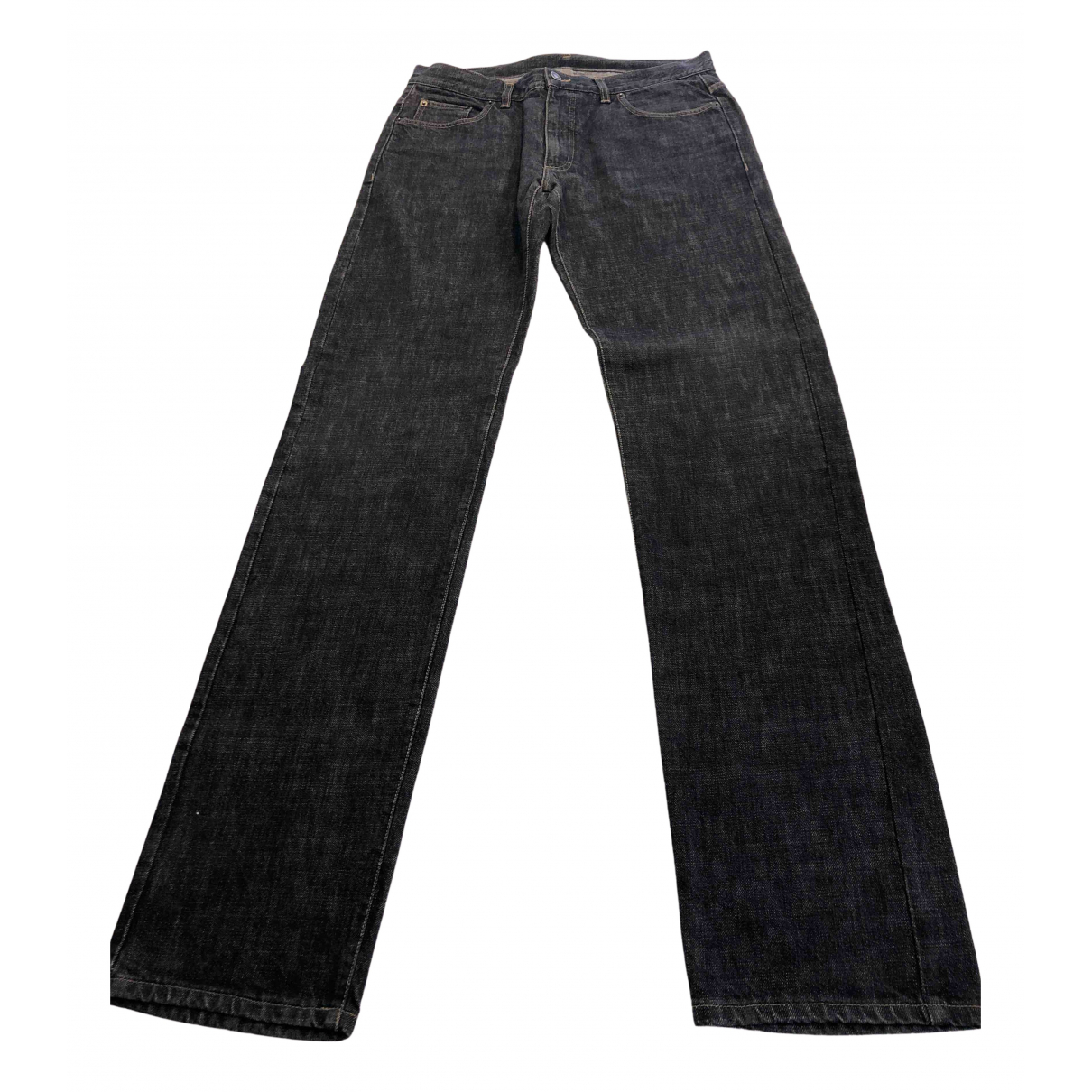 Gucci N Anthracite Cotton Jeans for Men 36 US