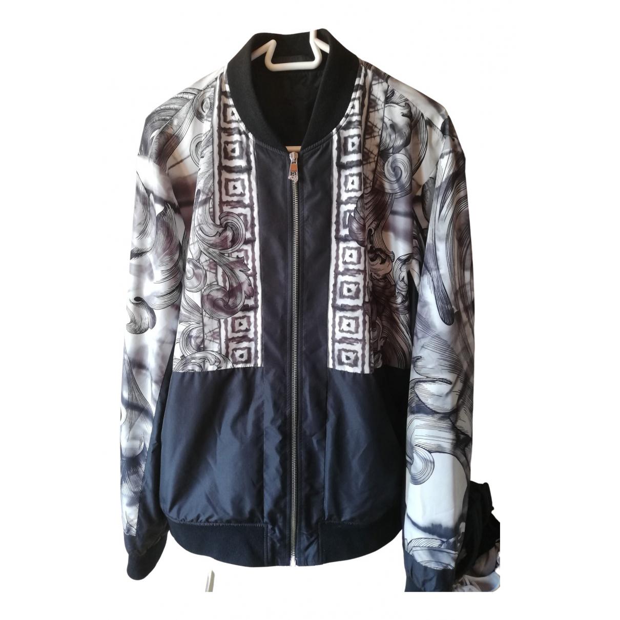 Versace \N Jacke in  Schwarz Synthetik