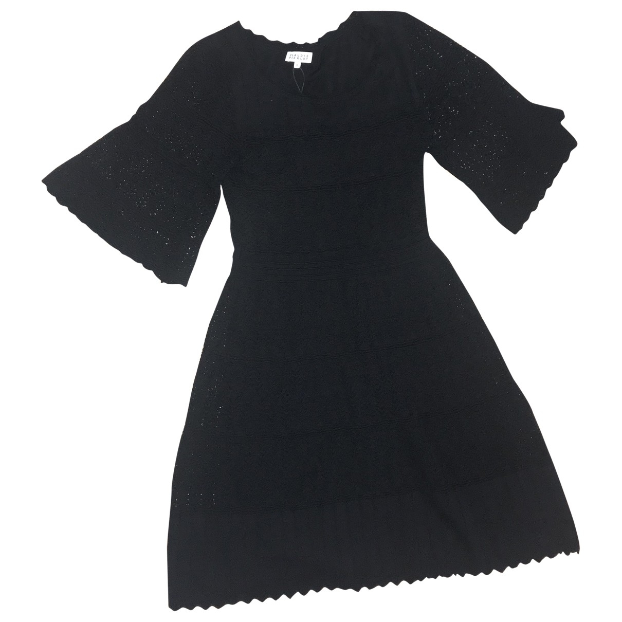 Claudie Pierlot Spring Summer 2019 Black dress for Women 36 FR