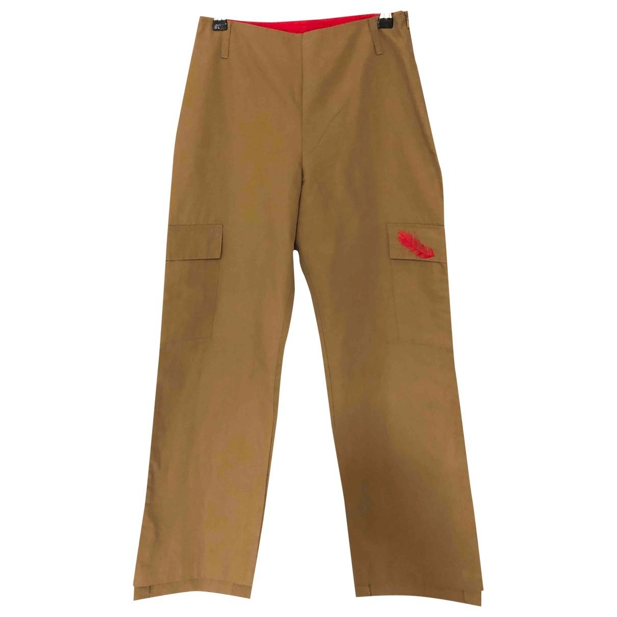 Kenzo - Pantalon   pour enfant en coton - kaki