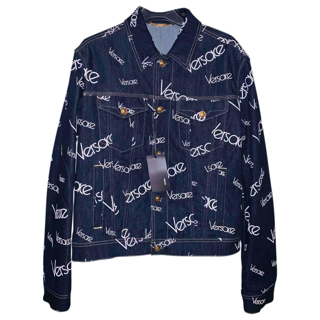 Versace \N Jacke in  Blau Denim - Jeans