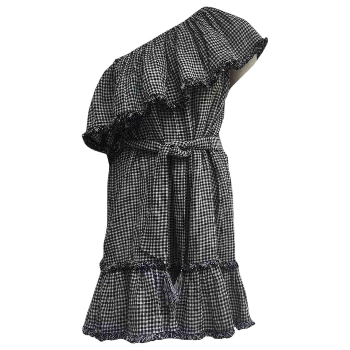 Zimmermann \N Kleid in  Schwarz Leinen
