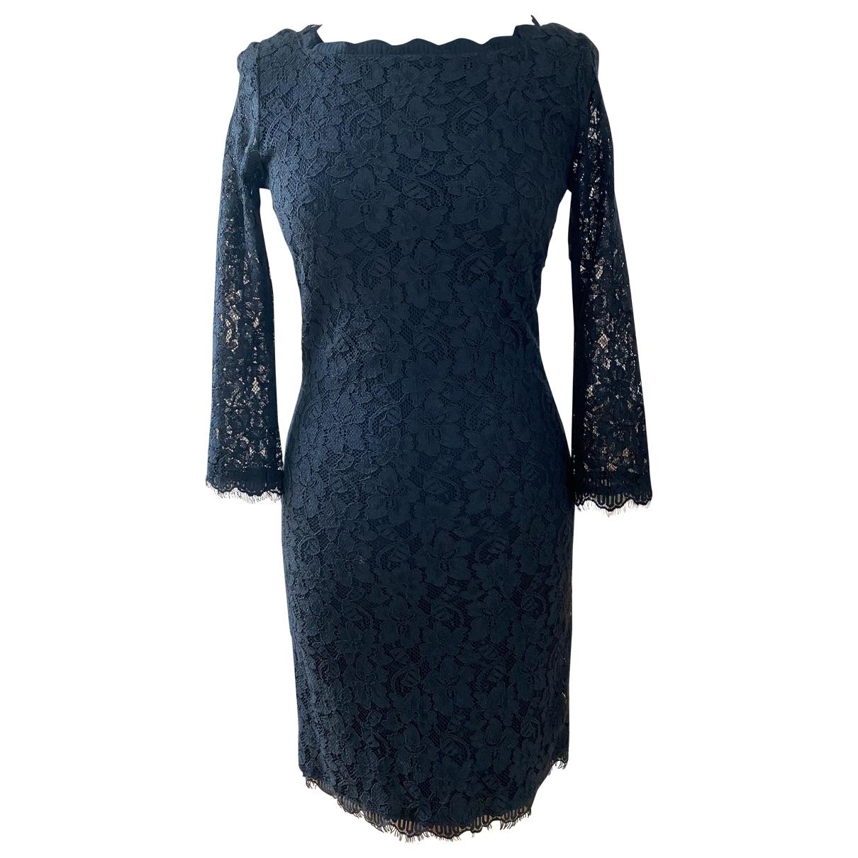 Mini vestido de Encaje Diane Von Furstenberg