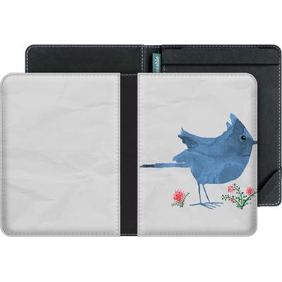 tolino vision eBook Reader Huelle - Watercolour Bird White von caseable Designs
