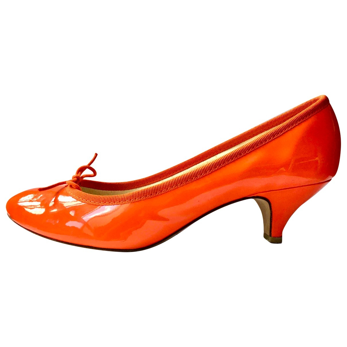 Repetto \N Red Patent leather Heels for Women 40 EU