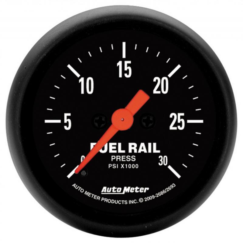 AutoMeter GAUGE; RAIL PRESSURE (RAM 6.7L); 2 1/16in.; 30KPSI; DIGITAL STEPPER MOTOR; Z Dodge 2007-2009 6.7L 6-Cyl