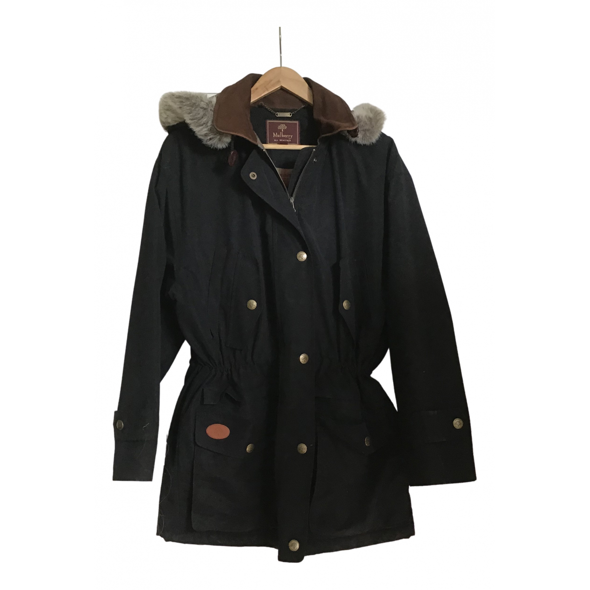 Mulberry \N Black coat for Women S International