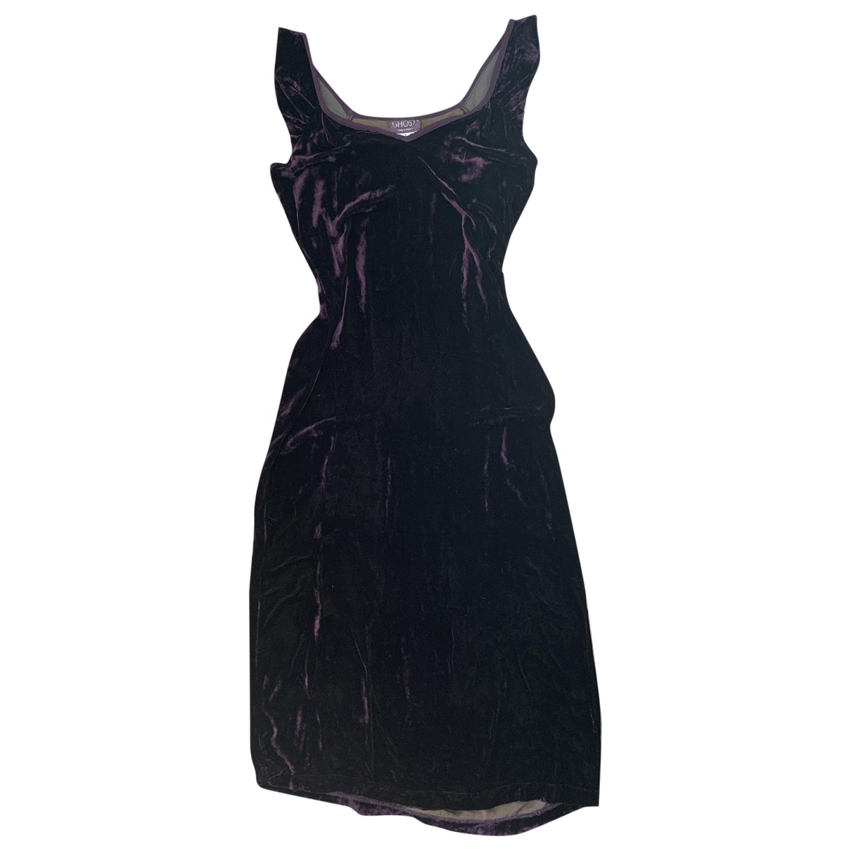 Ghost London \N Kleid in  Lila Viskose