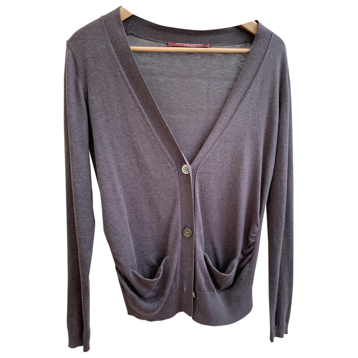 Comptoir Des Cotonniers N Brown Cotton Knitwear for Women M International