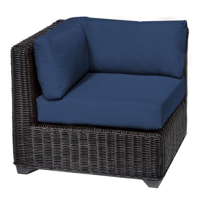 TKC050b-CS-NAVY Venice Corner Sofa with 2 Covers: Wheat and