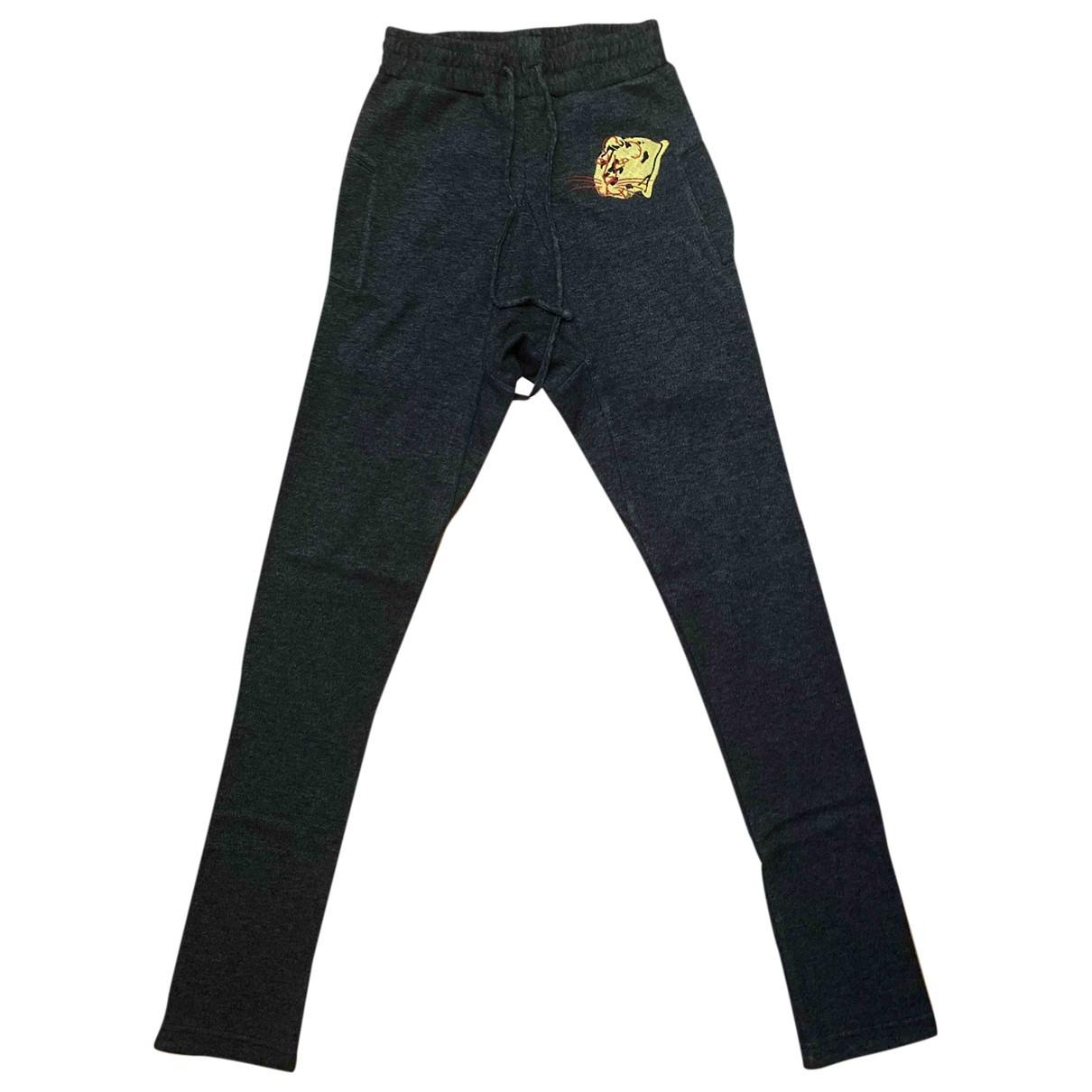 Pantalones en Algodon Antracita Vivienne Westwood