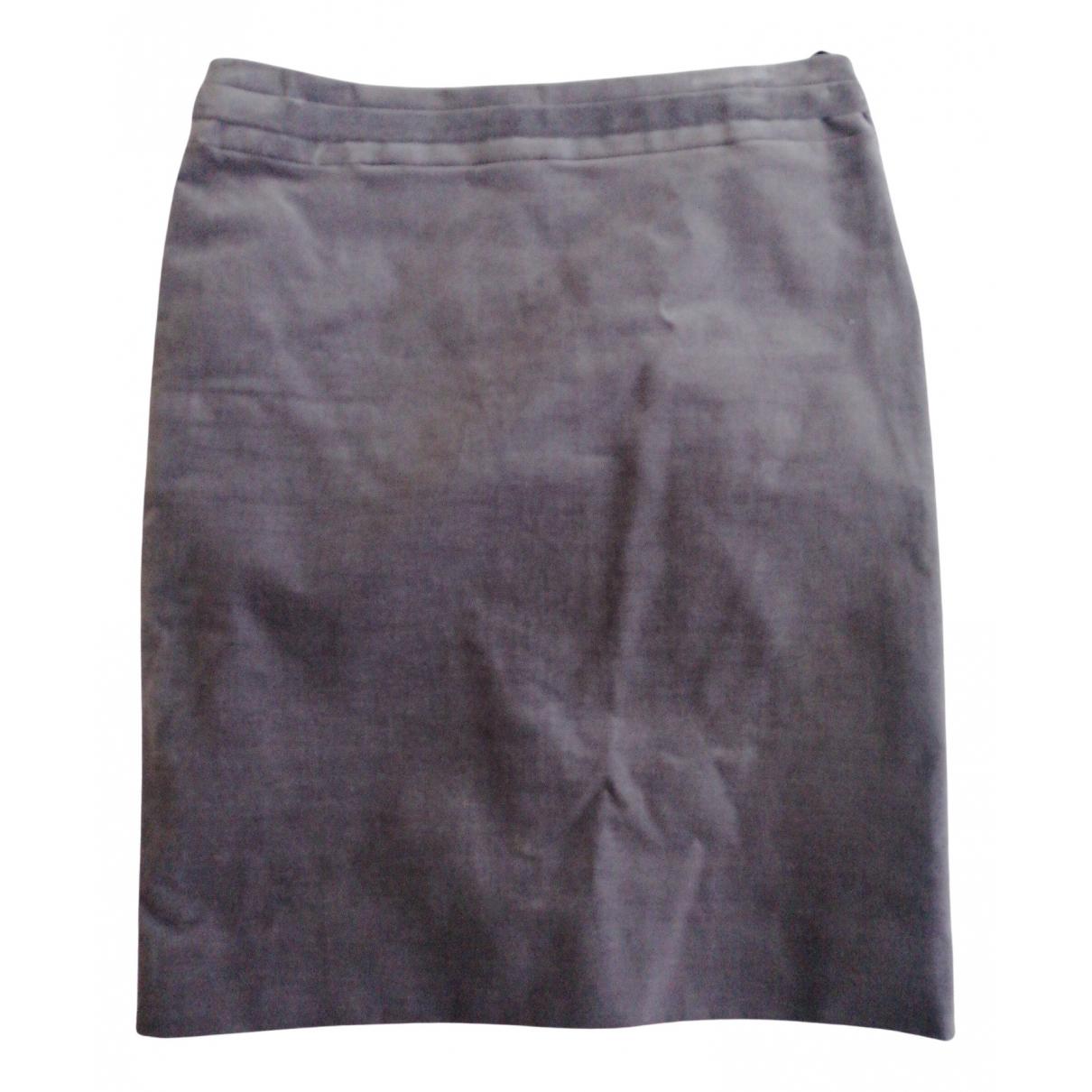 Gucci N Purple Cotton - elasthane skirt for Women 38 IT