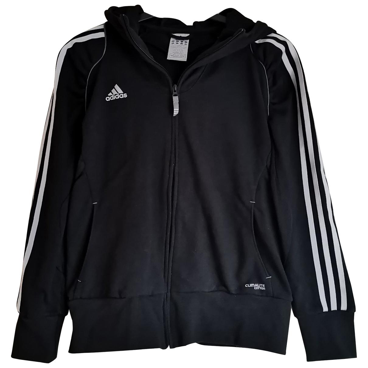 Adidas \N Jacke in  Schwarz Baumwolle