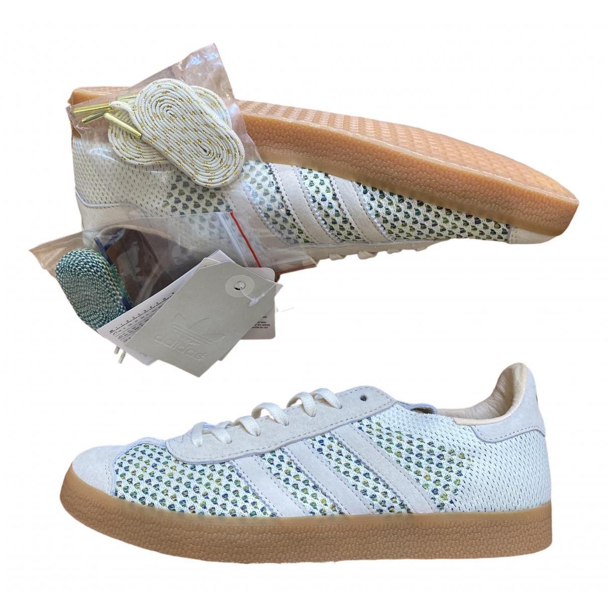 Adidas - Baskets Gazelle pour homme en suede - ecru