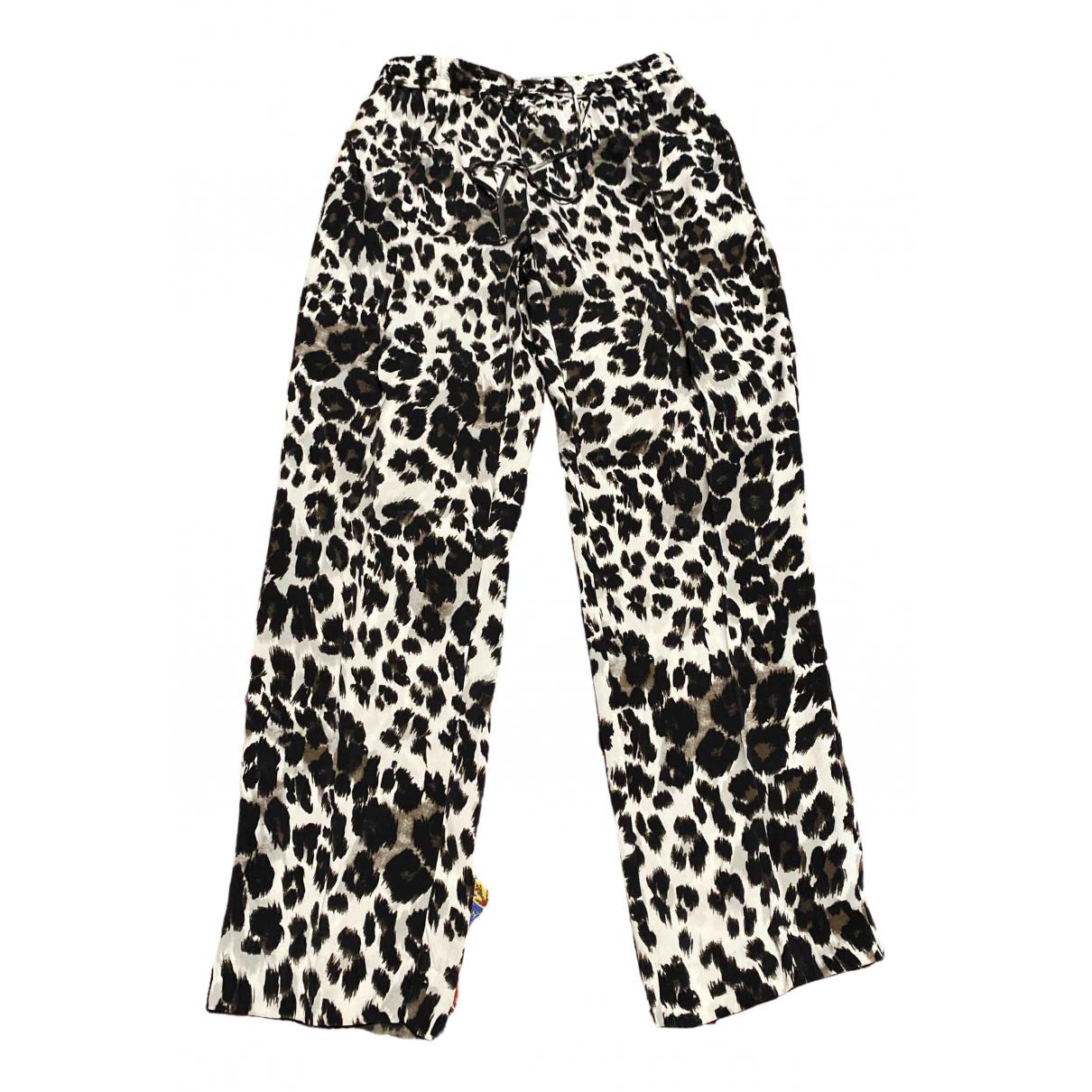 Pantalon de Seda Diane Von Furstenberg