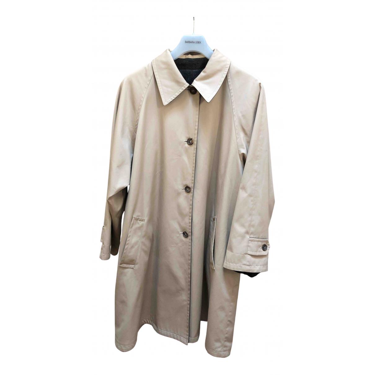 Gucci \N Beige Cotton coat for Women 40 IT