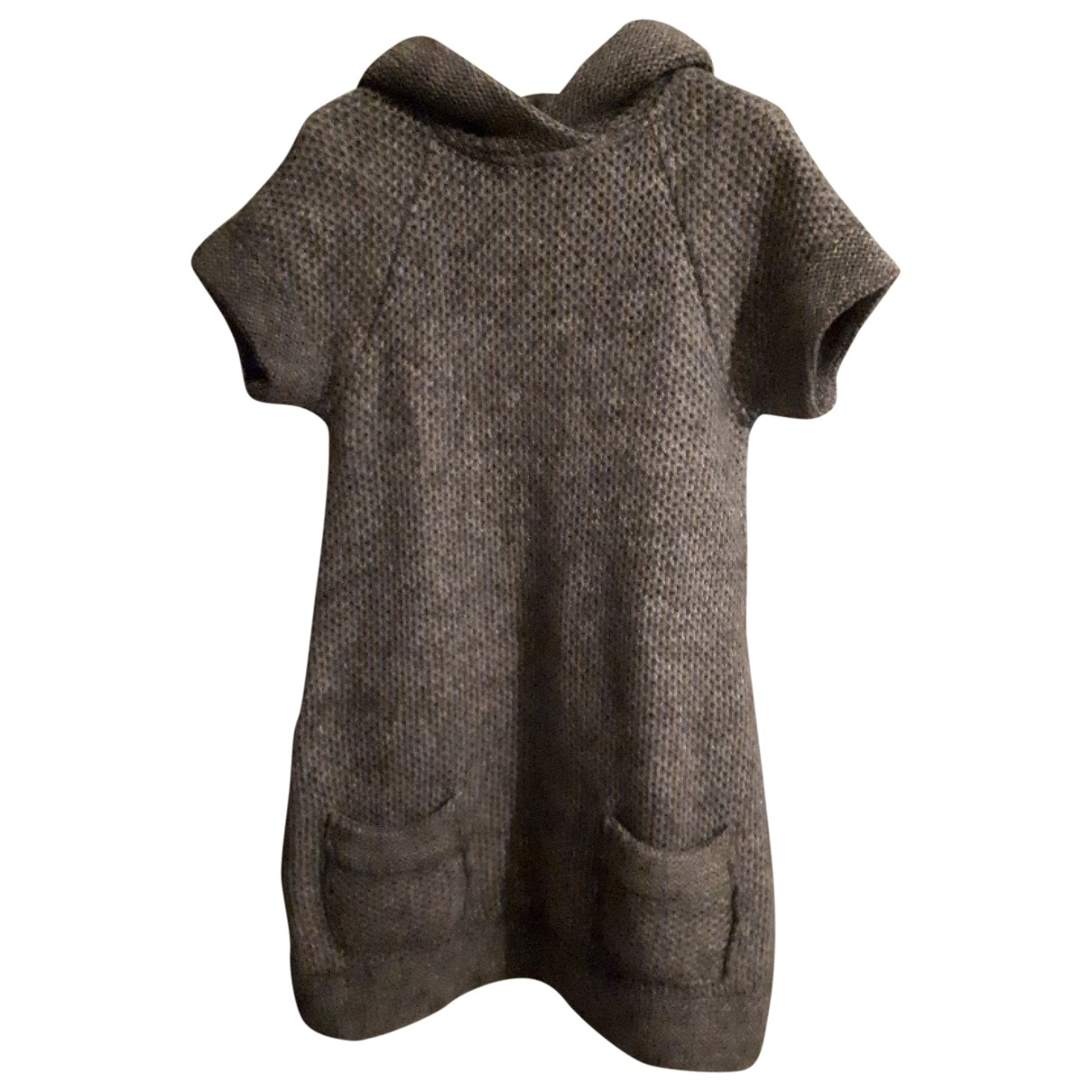 Non Signé / Unsigned \N Grey Wool Knitwear for Women 44 FR