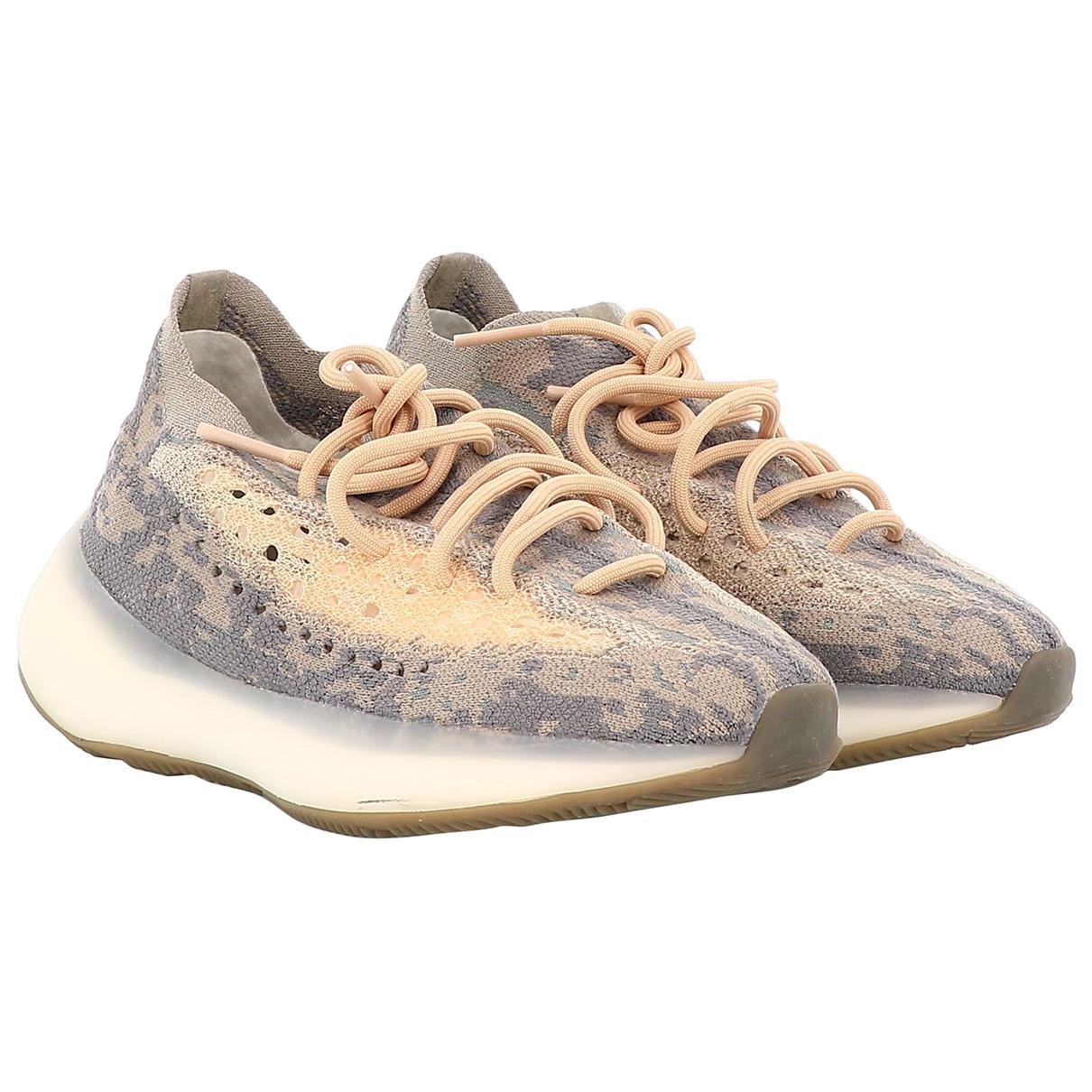 Yeezy \N Sneakers in  Bunt Leinen