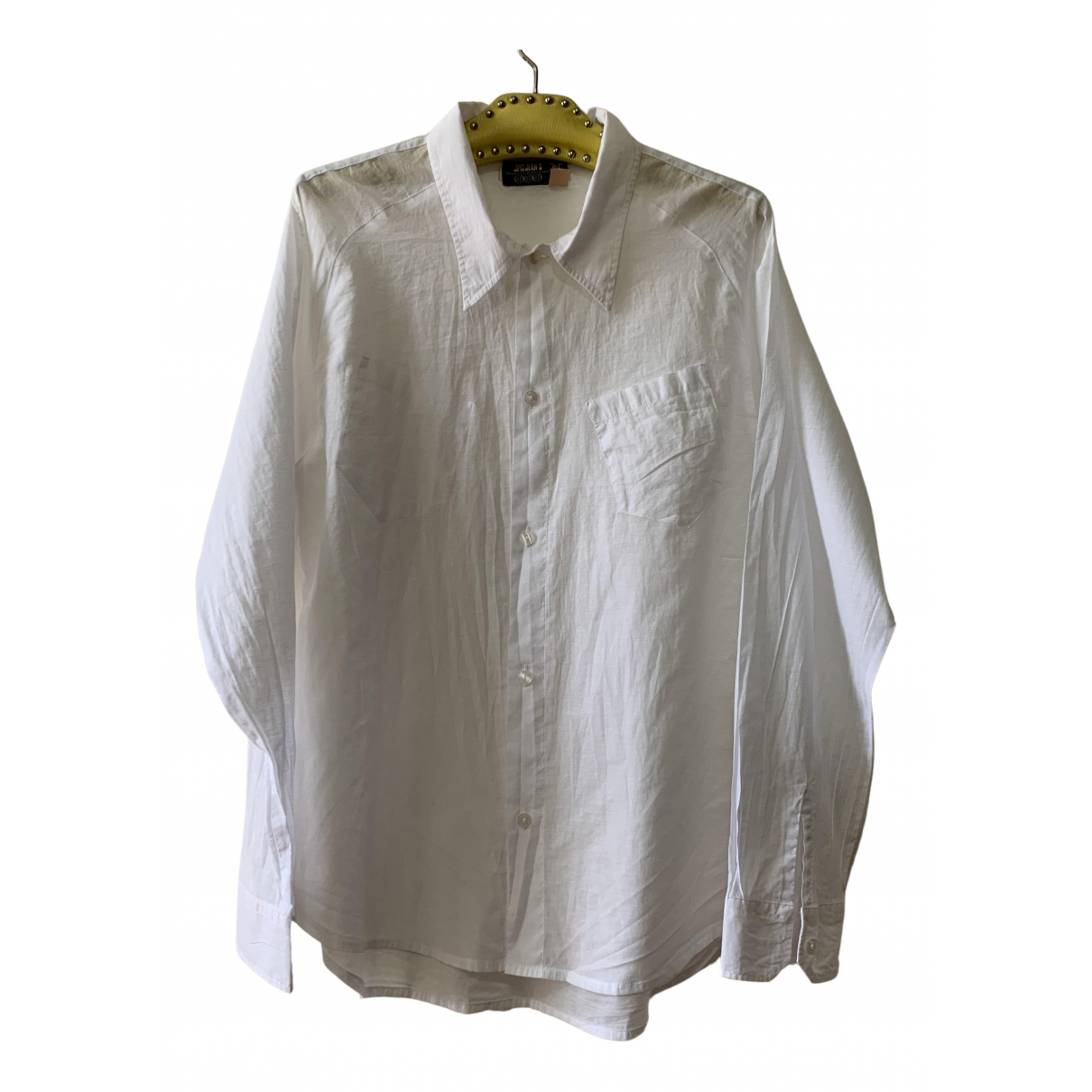Jean Paul Gaultier \N White Cotton Shirts for Men XXL International