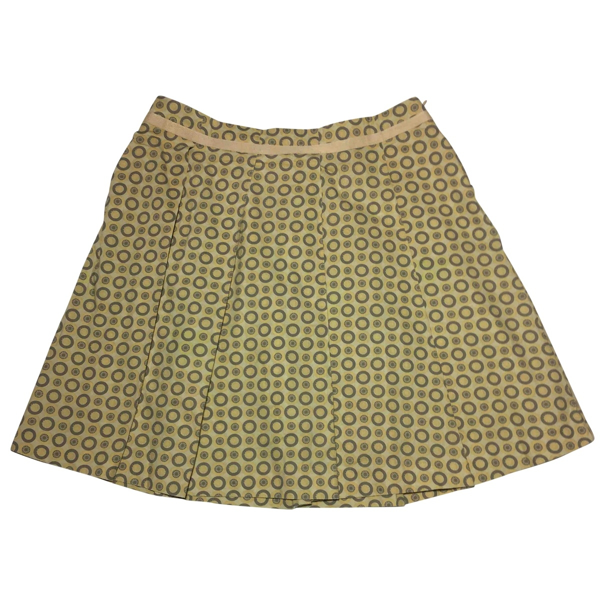 See By Chloé \N Yellow Cotton skirt for Women 40 FR