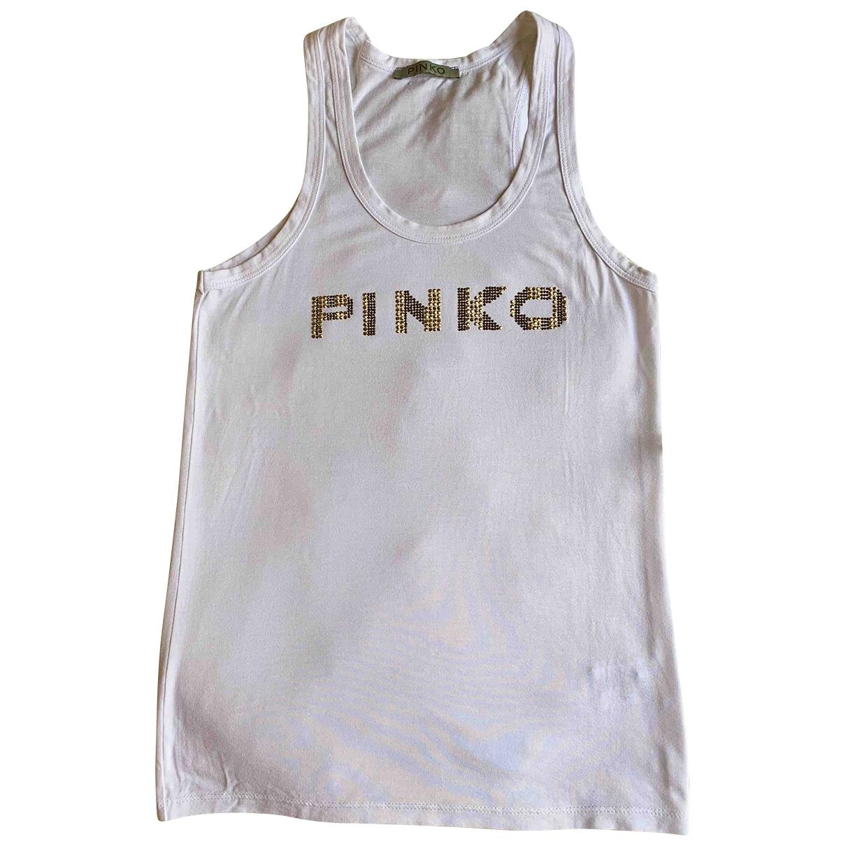 Pinko \N Top in  Weiss Viskose