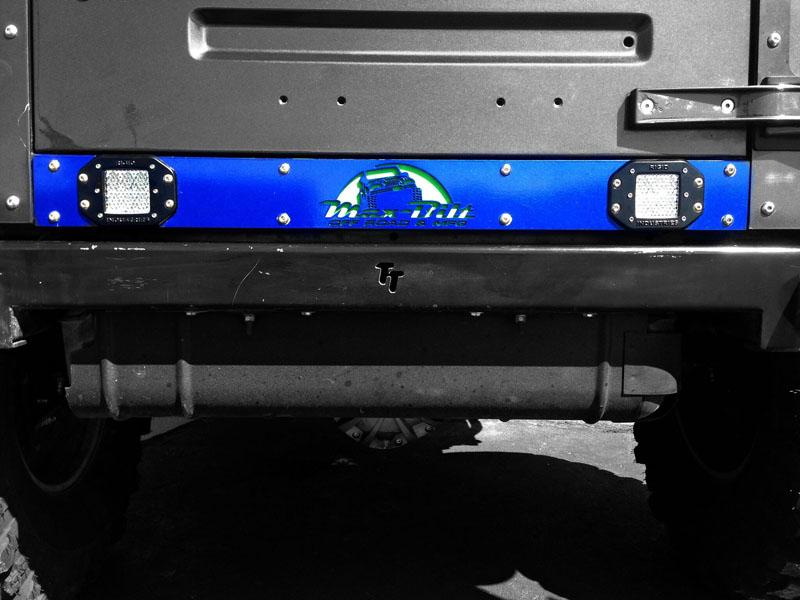 Max-Bilt MAXVAL Jeep Wrangler TJ/YJ Valance Armor Bare Steel