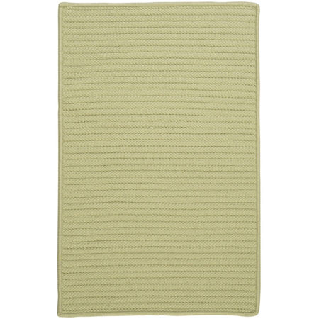 Colonial Mills Nantucket Reversible Braided Indoor/Outdoor Rectangular Rug, One Size , Green