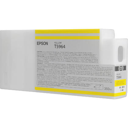 Epson T596400 350ml Original Yellow Ink Cartridge