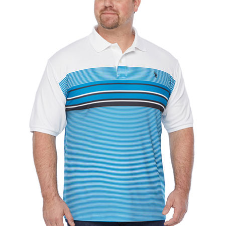 Us Polo Assn. Mens Short Sleeve Polo Shirt, 3x-large Tall , Blue