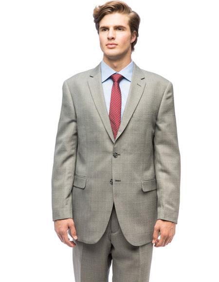 Men's Classic Plaid Single Breasted Giorgio Fiorelli Brand suits