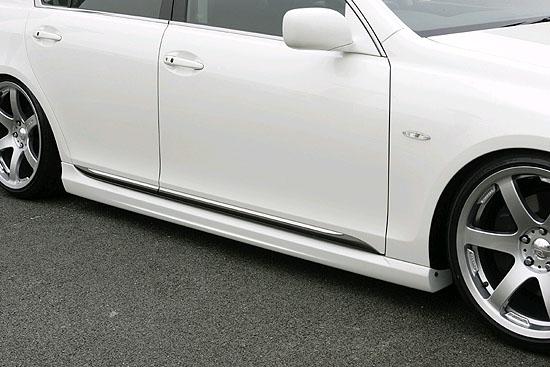 INGS LX Sport Side Skirts FRP Lexus GS350 06-09