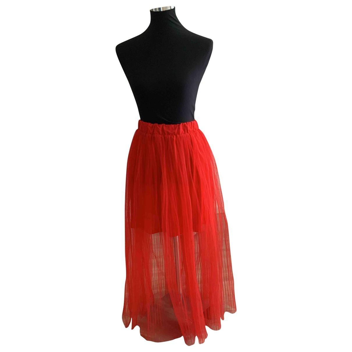 H&m Studio \N Red skirt for Women 8 US