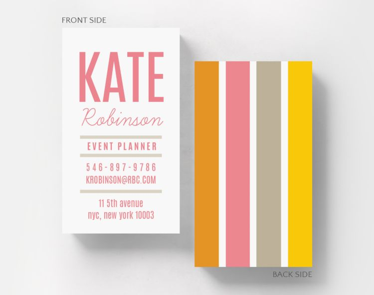 Studious Business Card Standard Size - Business Cards