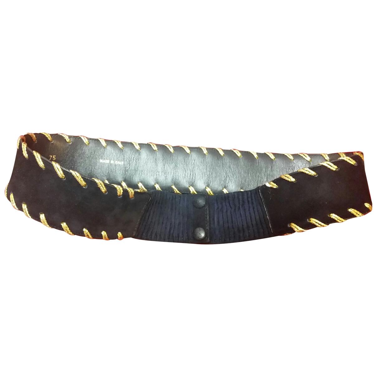 Valentino Garavani \N Blue Leather belt for Women M International