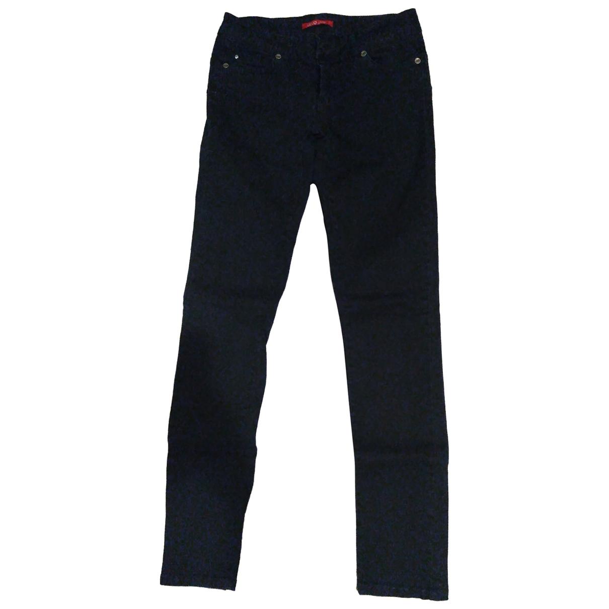 Liu.jo \N Black Denim - Jeans Jeans for Women 40 FR