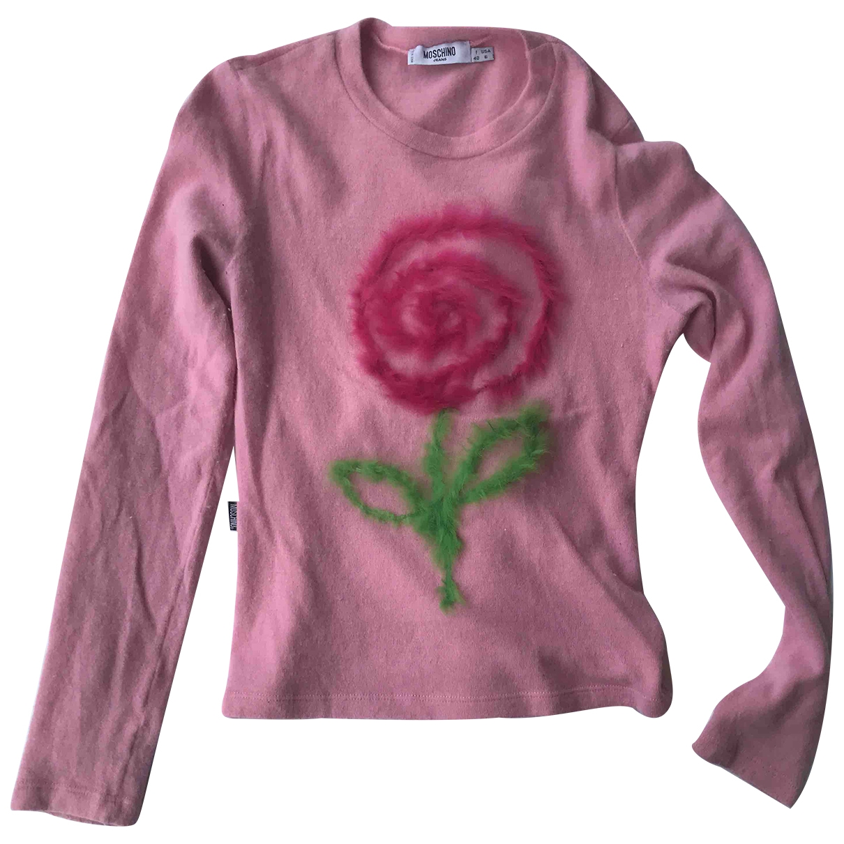 Moschino Cheap And Chic \N Pink Wool  top for Women 40 IT