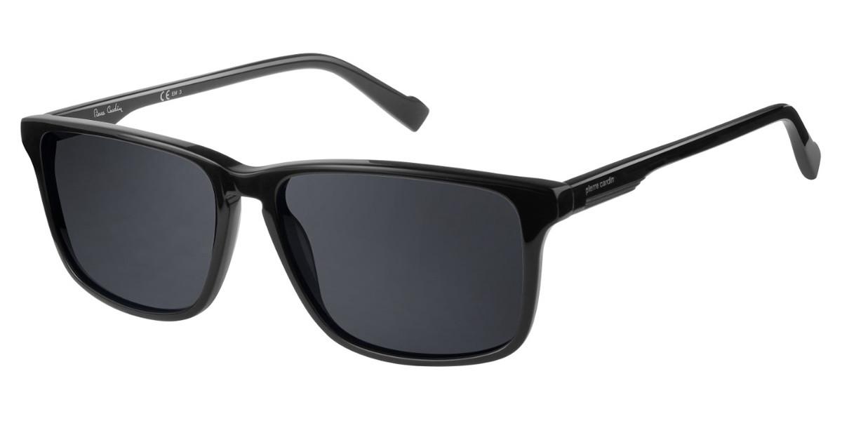 Pierre Cardin P.C. 6209/S 807/IR Men's Sunglasses Black Size 57