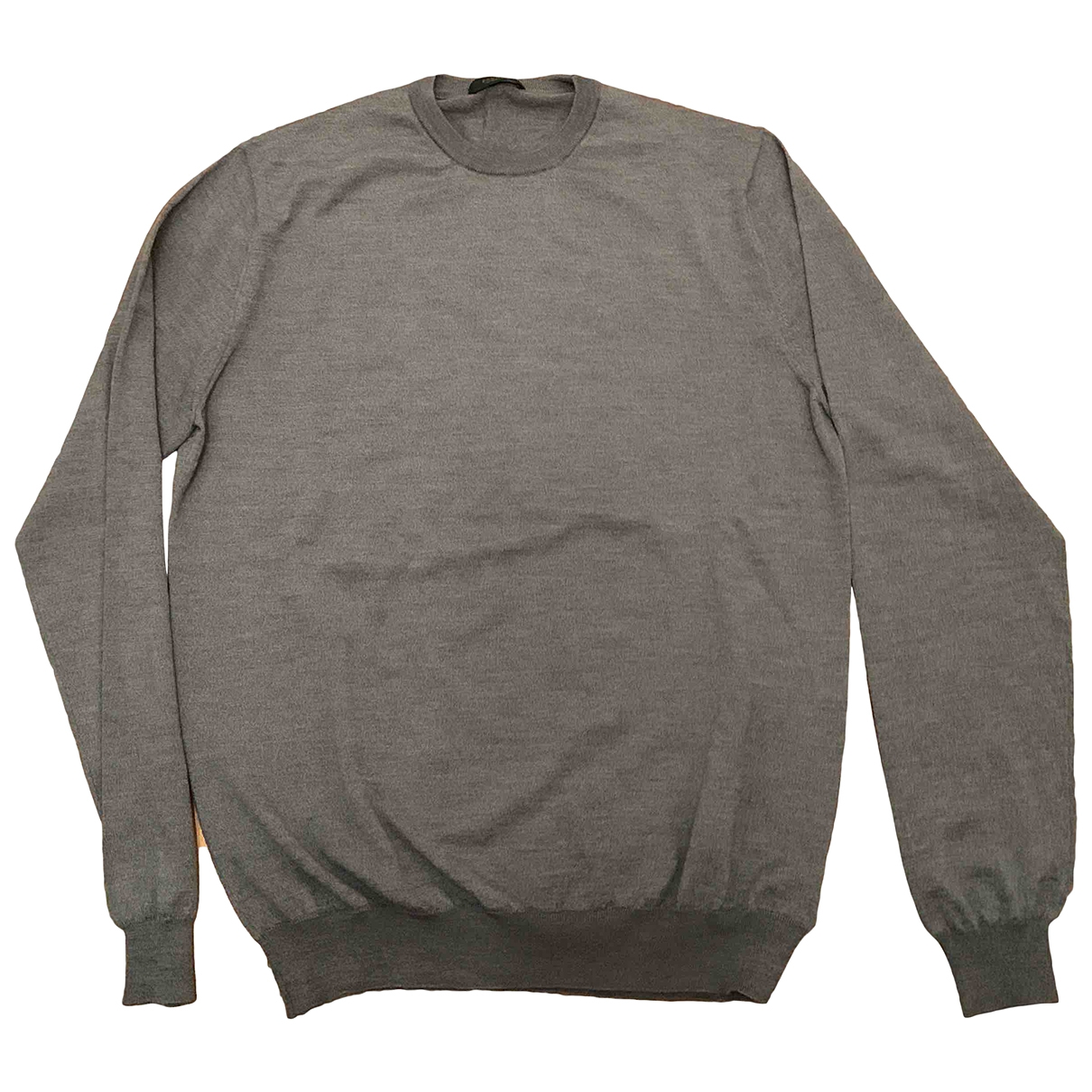 Zanone \N Grey Wool Knitwear & Sweatshirts for Men 52 IT